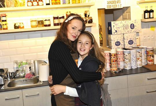 Markéta Hrubešová s dcerou Christel