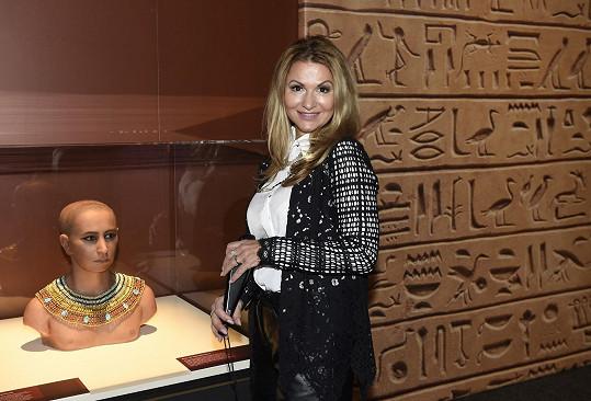 Na výstavu vyrazí s dětmi z La Sophia.