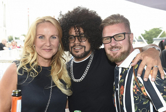 S Vendulou Pizingerovou a partnerem Guyem