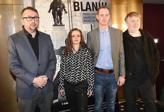 Film režíroval Marek Najbrt.