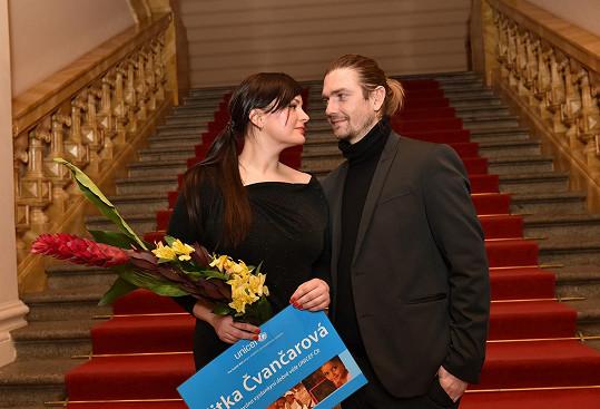 S manželkou se radoval i Petr Čadek.