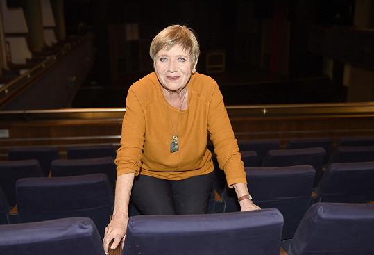 Jaroslava Obermaierová oslavila narozeniny v poklidu doma.