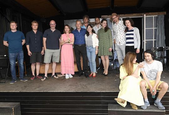 Na letní scéně Divadla Ungelt