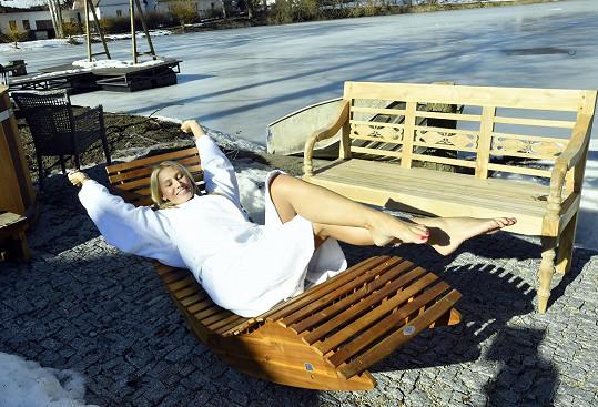V Černovicích si víkend užila.