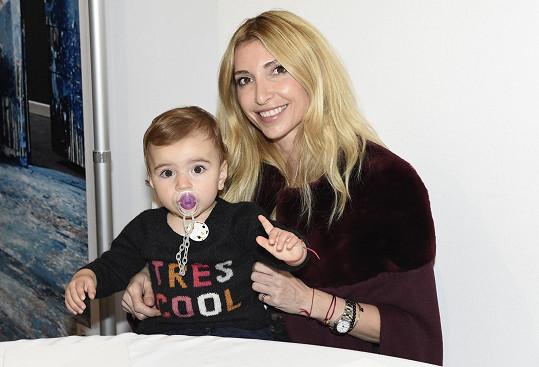 Ivana s dcerou Isabelkou.