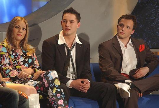 S Martinou Balogovou a Sámerem Issou v roce 2004