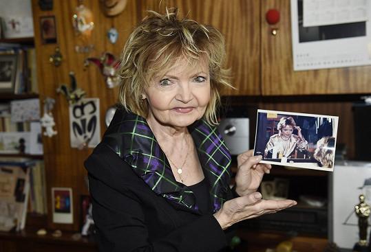 Eva Hrušková ráda vzpomíná na natáčení svých pohádek a filmů.