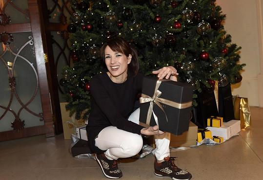 Herečka se rozpovídala o svých plánech na Vánoce.
