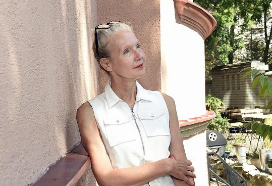 Obermannová představovala svůj seriál Trapný padesátky.