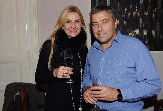 Tamara Kotvalová přispěla Pavlu Bočkovi 400 tisíc korun.