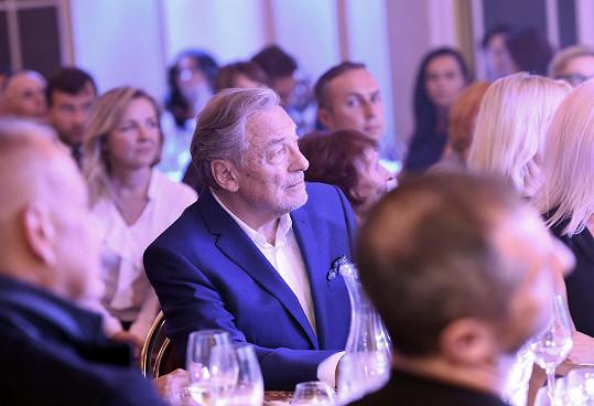 Karel Gott ještě v publiku