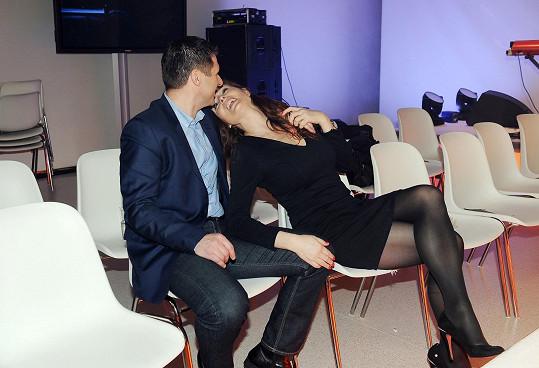 S Petrem Syslem je vážně šťastná.