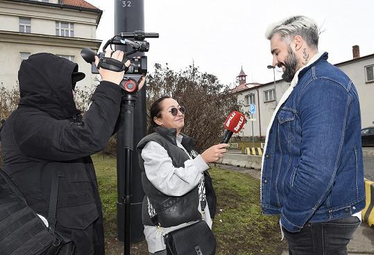 Pepa při rozhovoru se Super.cz