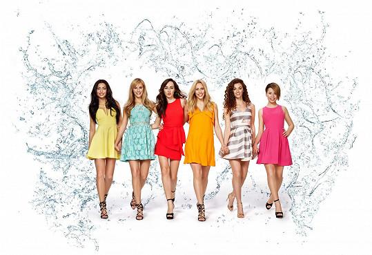 Skupinu AquaBabes tvoří šestice talentovaných dívek.