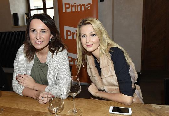 Sandra s kolegyní Lucií Šilhánovou