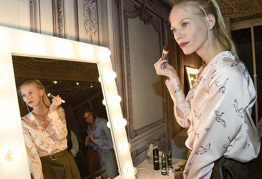 Kráska si připomněla roky, kdy pracovala jako modelka v Paříži.