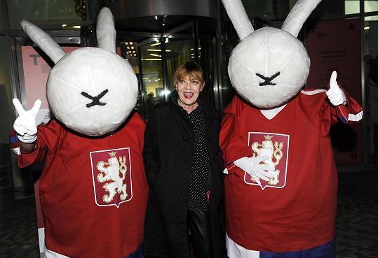 A fotila se i s trochu přerostlými králíky z klobouku.