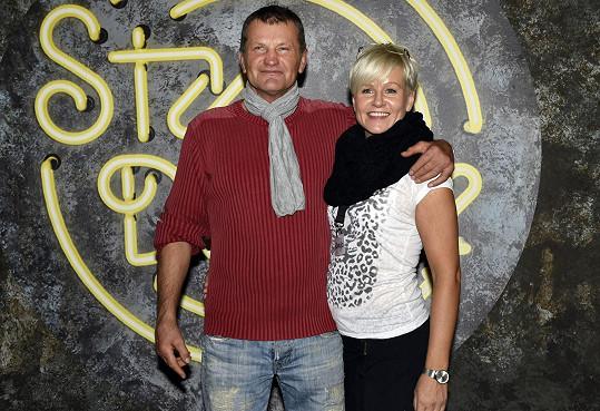 Rostislav Osička s tanečnicí Romanou Motlovou