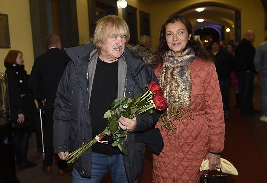 Karel Vágner s manželkou