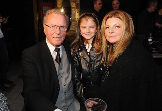 S maminkou a dědečkem