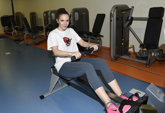 Andrea dřela na cvičebním maratonu MaRS 2016.