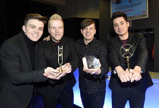 Kapela Mirai získala tři ceny.