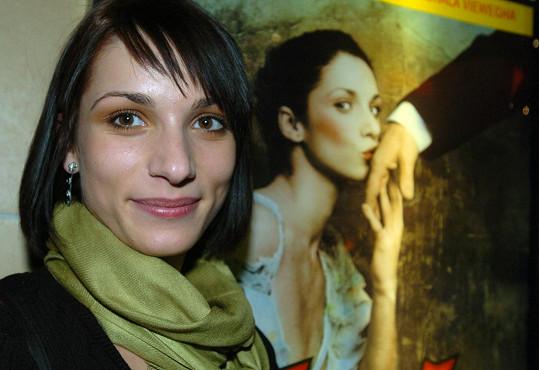 Zuzana Kanócz v roce 2005, kdy natočila Román pro ženy.