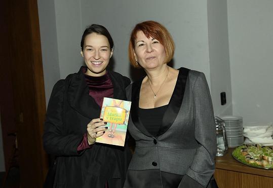 Berenika šla za kmotru knihy rodinné přítelkyně Uljany Donátové.