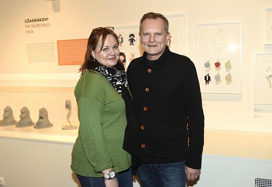 Manžel Kamily Špráchalové s Pixarem také spolupracuje.