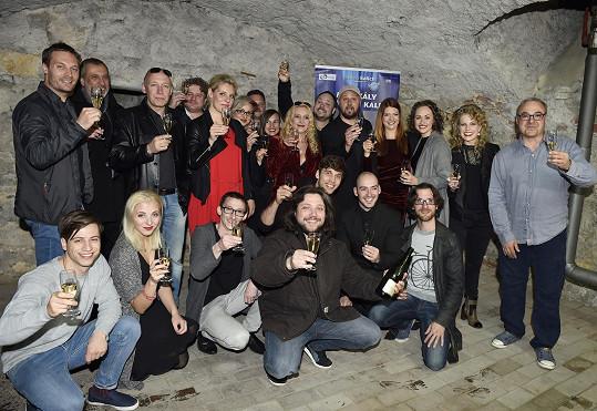 Setkání protagonistů nové verze muzikálu Krysař
