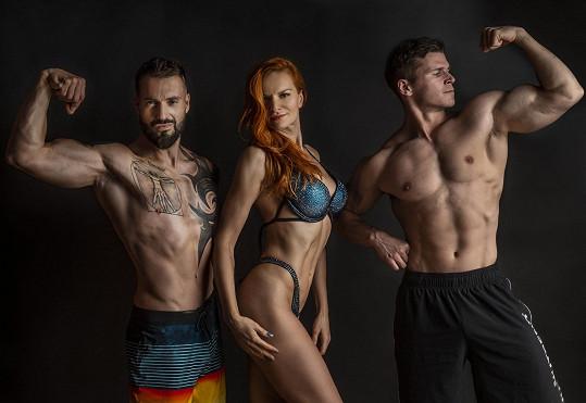 S trenérem a šampionem v bodybuildingu Jakubem Prchalem