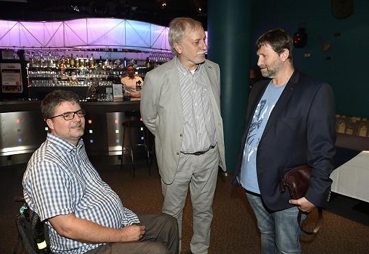 Mimo jiné spolu s Janem Hrušínským (vpravo) a Zdeňkem Zelenkou připravuje 41. ročník Festivalu české filmové komedie, který proběhne 15. - 21. září v Novém Městě nad Metují.