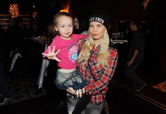 Kateřina mít ze své dcery modelku nechce.