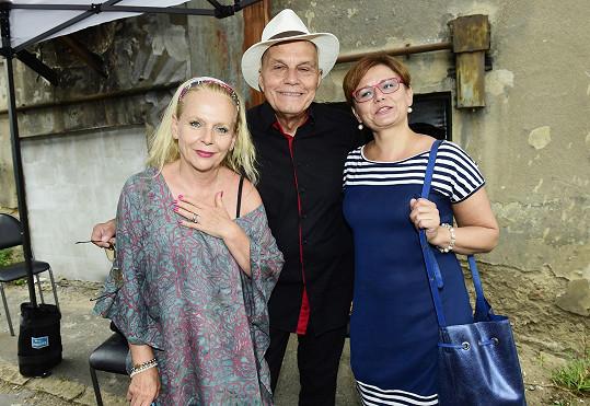 Ivana Andrlová s kolegy