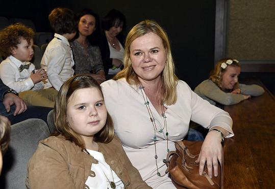 Sabina Remundová s dcerou