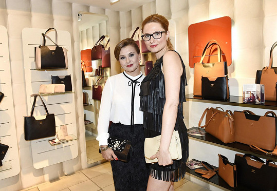 S Danou Morávkovou, která představila novou kolekci kabelek.