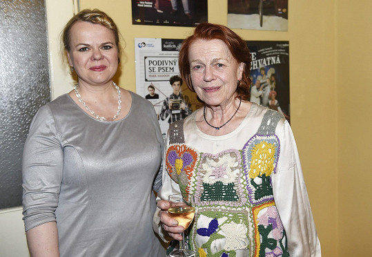 Iva s dcerou Sabinou Remundovou