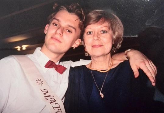 Pavel Cejnar na maturitním plese