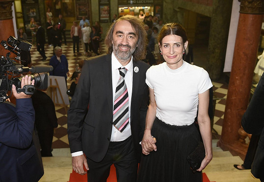 Jakub Kohák s partnerkou Barborou