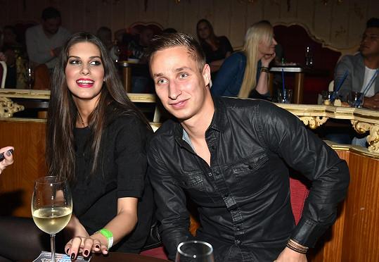 Aneta s Michalem Zemanem, s nímž se v létě údajně rozešla.