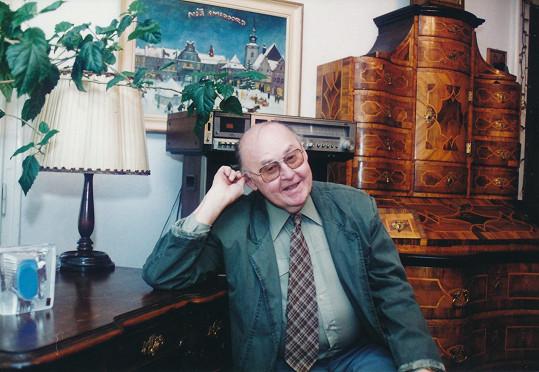 Lubomír Lipský na archivním snímku