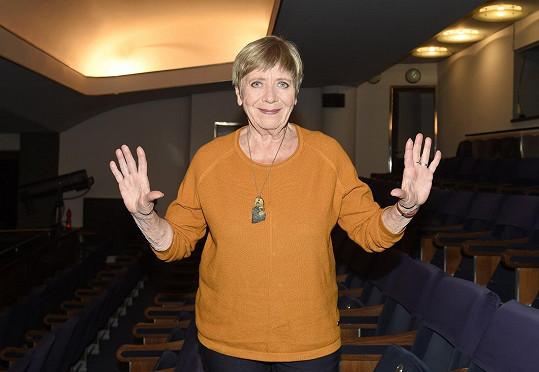 Jaroslava Obermaierová už by se ráda vrátila před publikum.