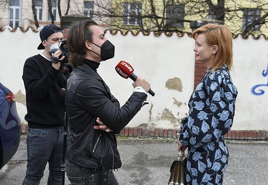 Během rozhovoru pro Super.cz.