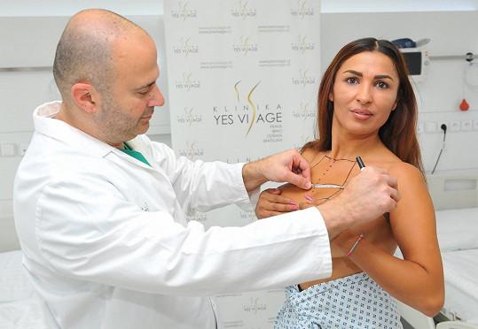 Poslední měření před operací