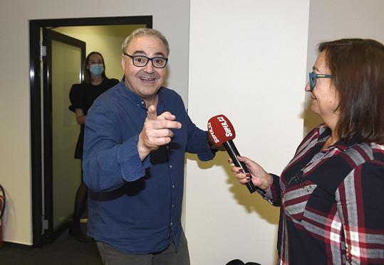 Martin při rozhovoru se Super.cz
