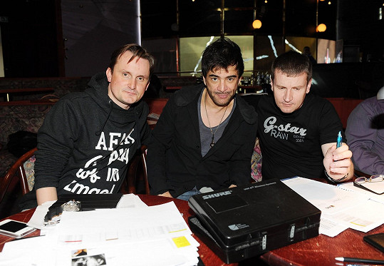 S režisérem Radkem Balašem a produkčním Filipem Janečkem vybírali v Brně nové herce do muzikálu.
