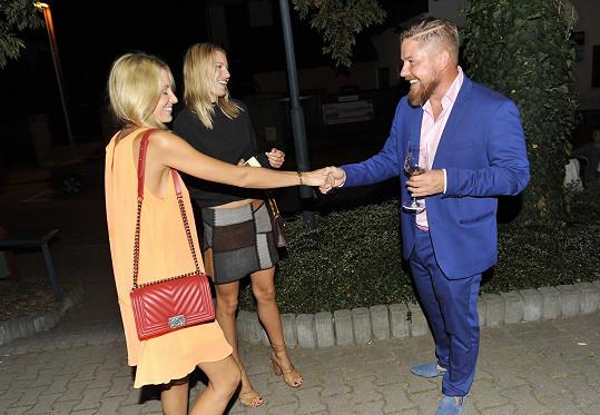 Katka se na párty potkala s exmanželem Vladimírem Konvalinkou.