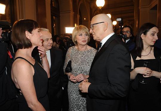 Vítala ho i Eliška Balzerová.
