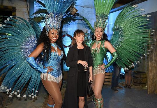 Táňa na irsko-karibské párty