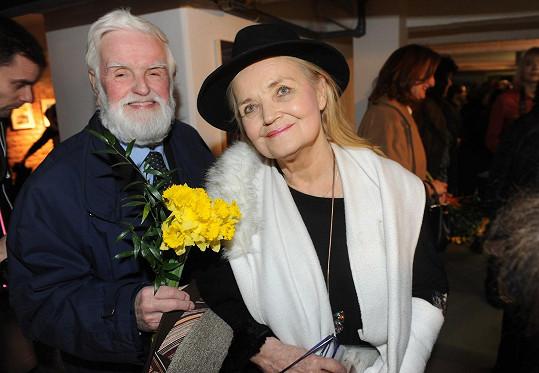 Také Gabriela Vránová s manželem